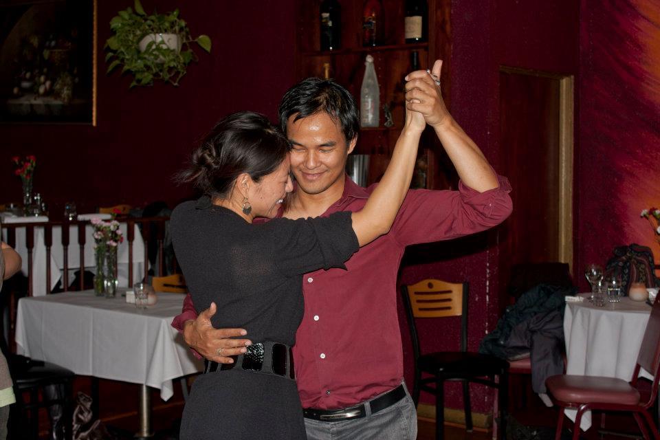 Leni Manaa-Hoppenworth and Fil Cortez, Milonga Pizpireta