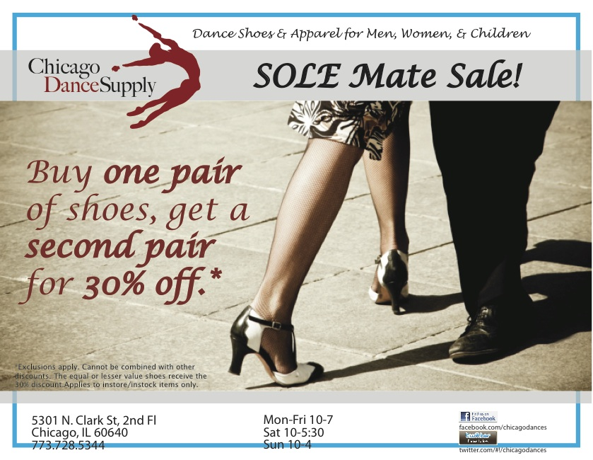 Chicago Dance Supply Sole Mate Sale 2012