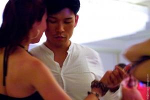 Sonya Nagaslaeva and James Oh. Chicago Tango Week 2012