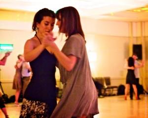 Dana Jazmin Frigoli and Jackie Ling Wong. Chicago Tango Week 2012