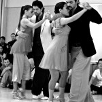 Virginia Vasconi, Jon Lambert, Dana Jazmin Frigoli and Adrian Romeo Ferreyra. Chicago Tango Week 2012