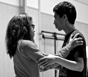 Cori Woods and Darian Nguyen. Chicago Tango Week 2012