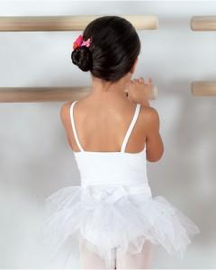 Capezio Camisole Tutu Dress in White