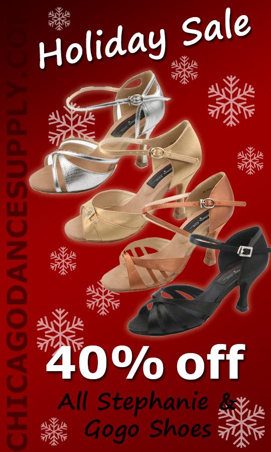 Stephanie and Gogo ballroom, salsa, men, women shoes