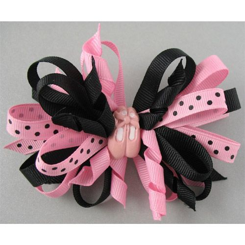 Ballet Slippers Bow by Dasha
