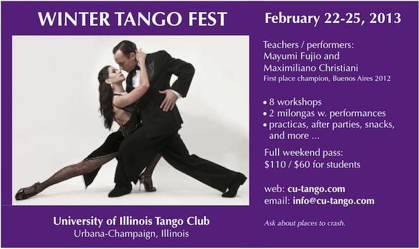 Winter Tango Festival Urbana-Champagne
