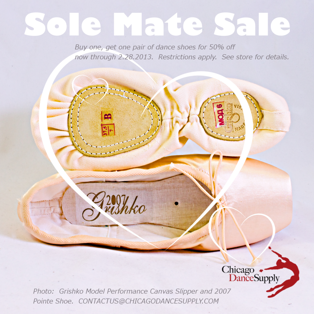 Sole Mate Sale at Chicago Dance Supply