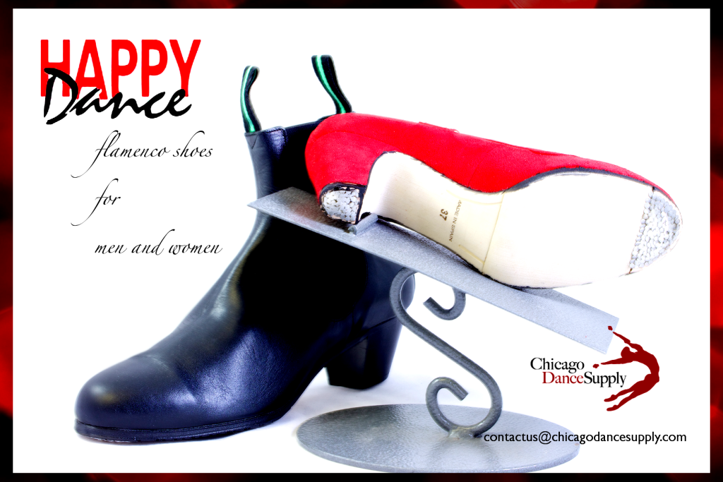 Happy Dance Flamenco Shoes for Men and Women at Chicago Dance Supply