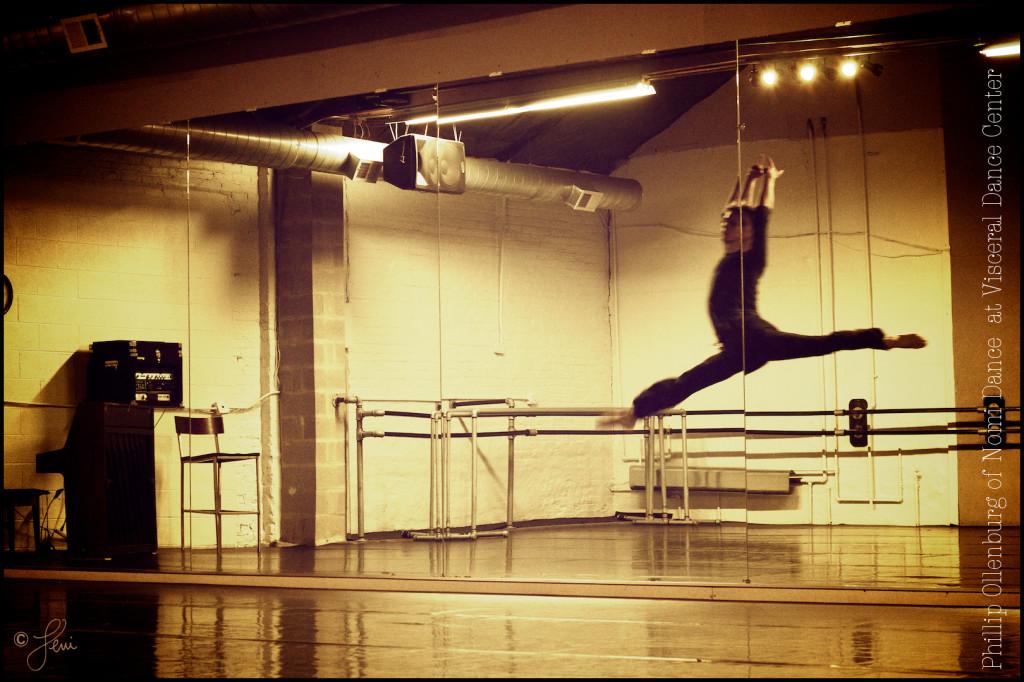 Philip Ollenburg of Nomi Dance at Visceral Dance Center