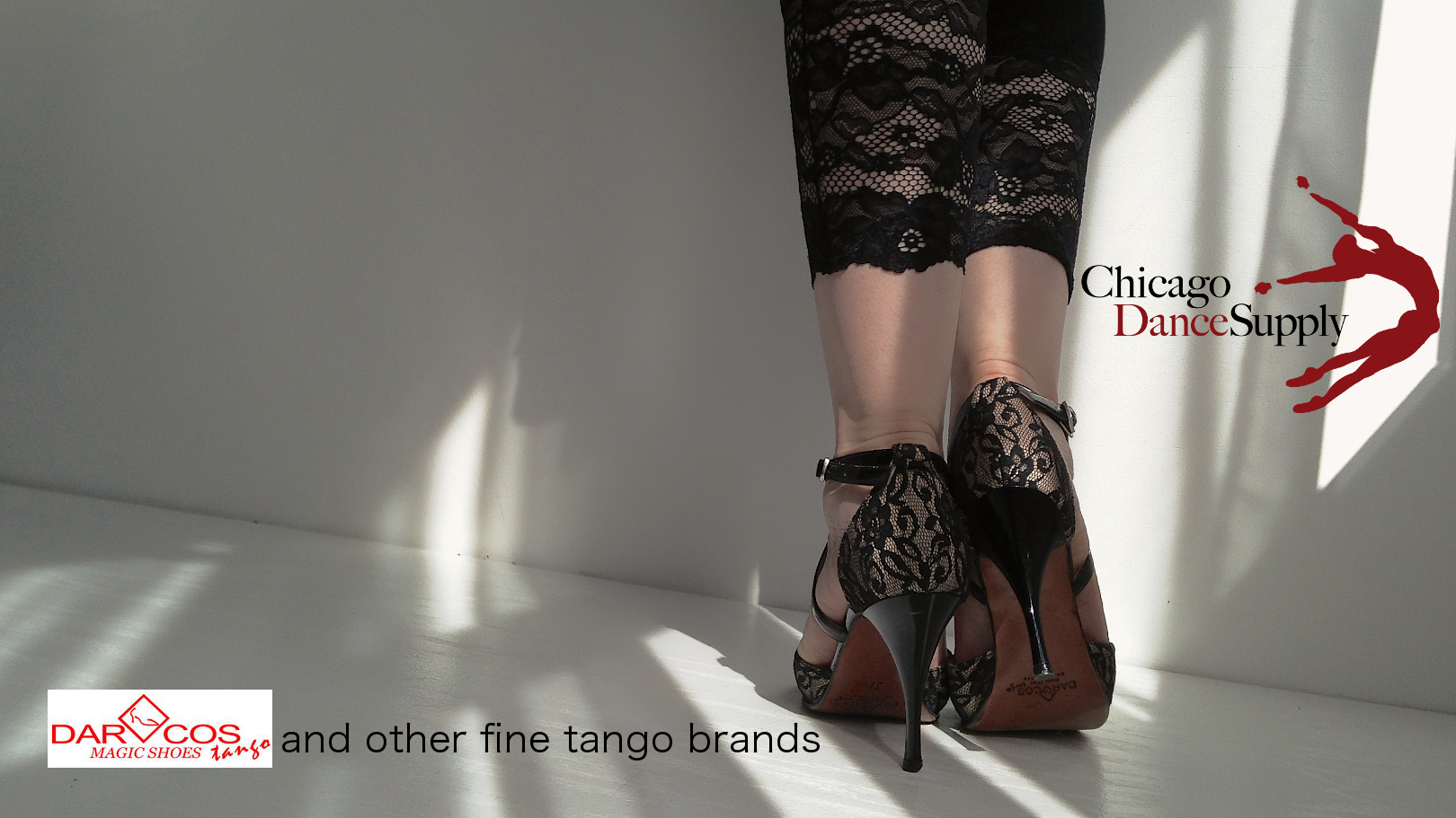 Photo:  Darcos Magic Tango Shoes.  Dancer:  Paola Bordon