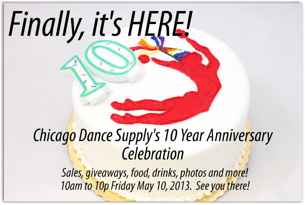 Chicago Dance Supply Anniversary Celebration