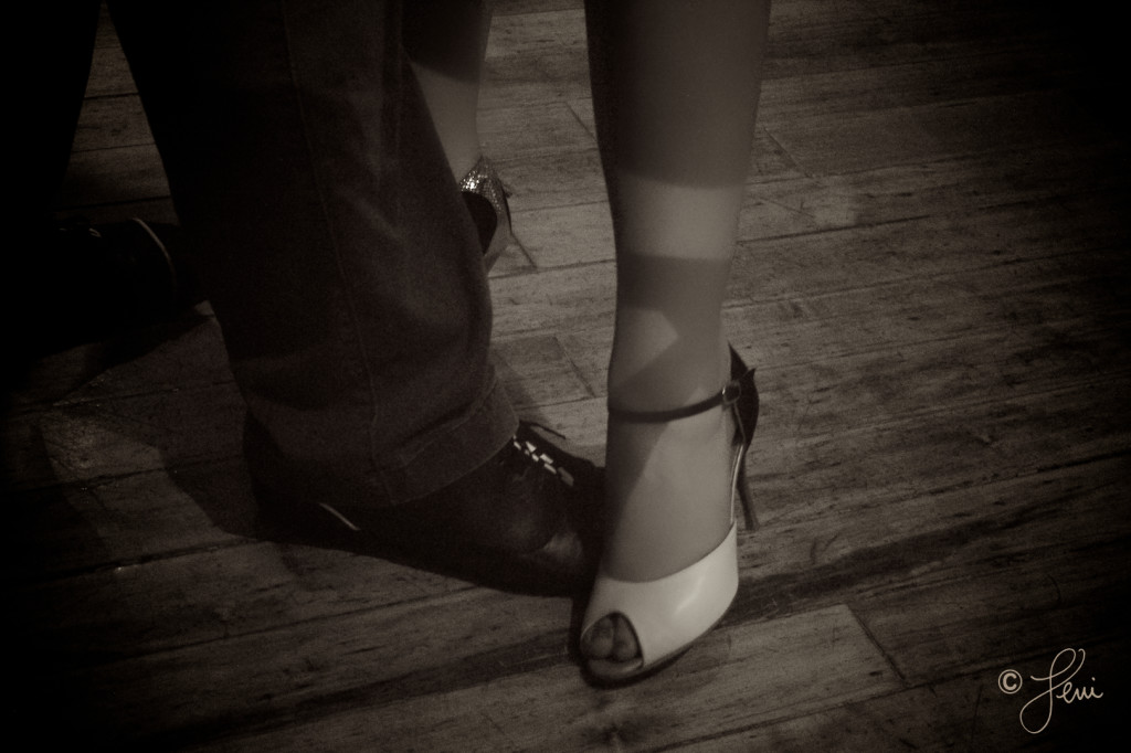 Photo: Karolcia Karolinka at Black and White Milonga Chicago wearing Comme il faut