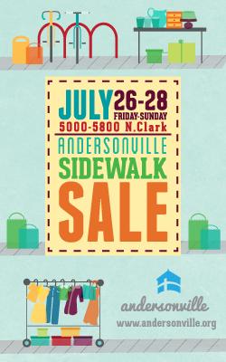 Andersonville Sidewalk Sale 2013