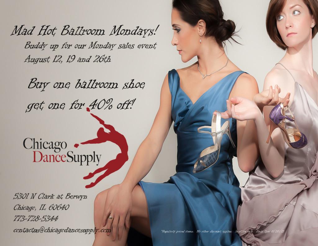 Ballroom Sale at Chicago Dance Supply
