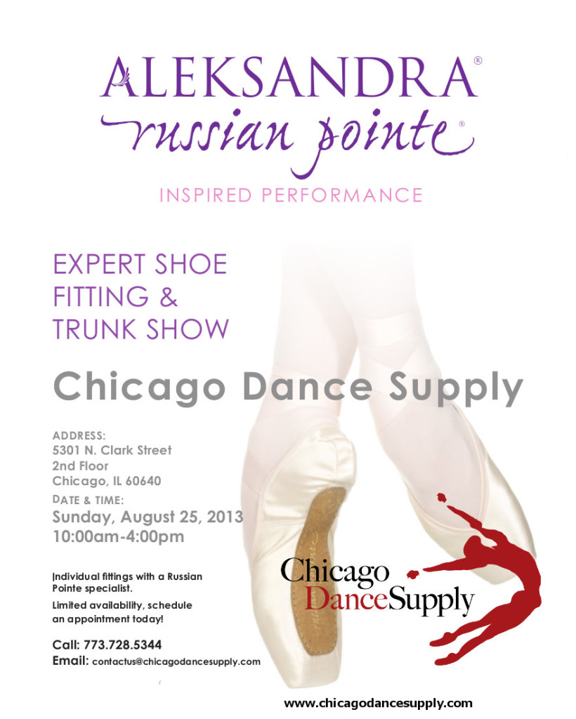 Chicago Dance Supply Pointe Shoe Fittings