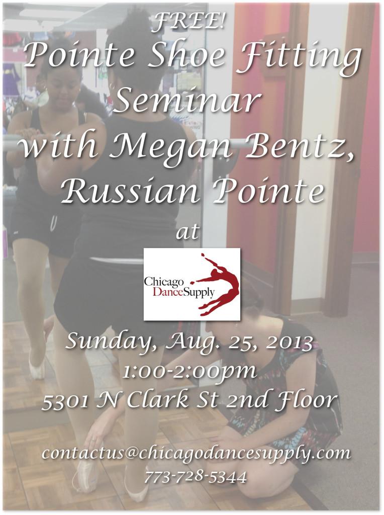 Pointe Shoe Seminar at Chicago Dance Supply