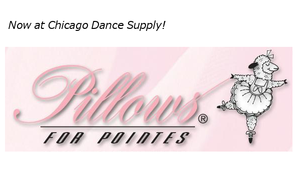 Pillows for Pointes at Chicago Dance Supply