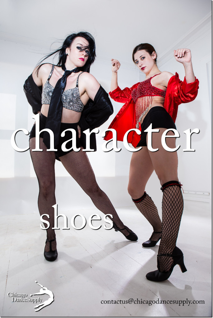 anna Barta at Michelle McCrea at Chicago Dance Supply, Character Shoes