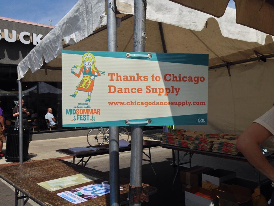 Chicago Dance Supply at MIdsommarfest