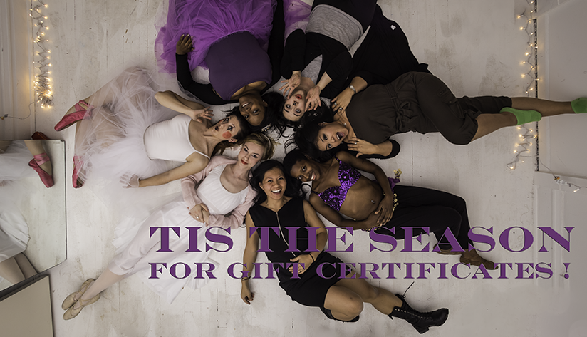 gift certificates at Chicago Dance Supply