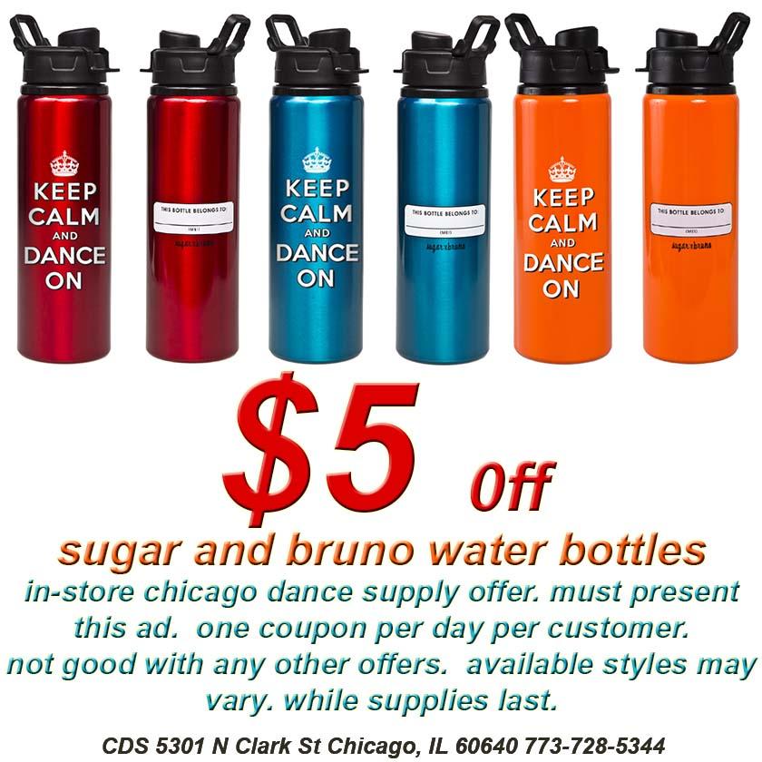Sugar and Bruno at Chicago Dance Supply