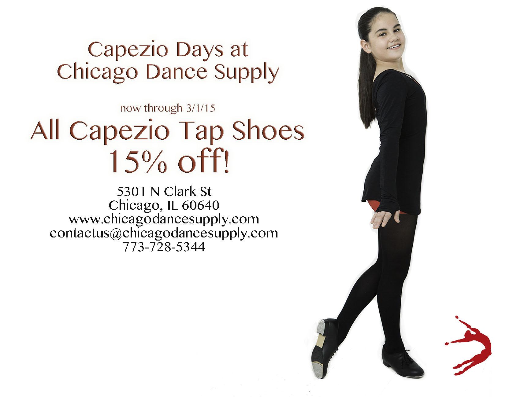 Capezio Tap Shoe Sale at Chicago Dance Supply