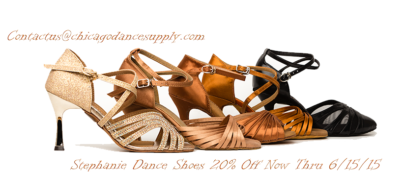Stephanie Dance Shoes at Chicago Dance Supply