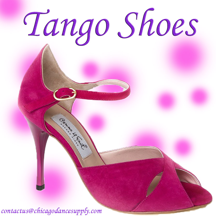 Tango Shoes at Chicago Dance Supply