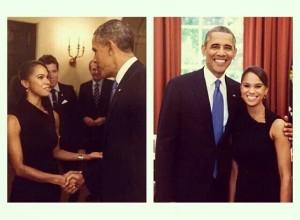 Obama and Misty