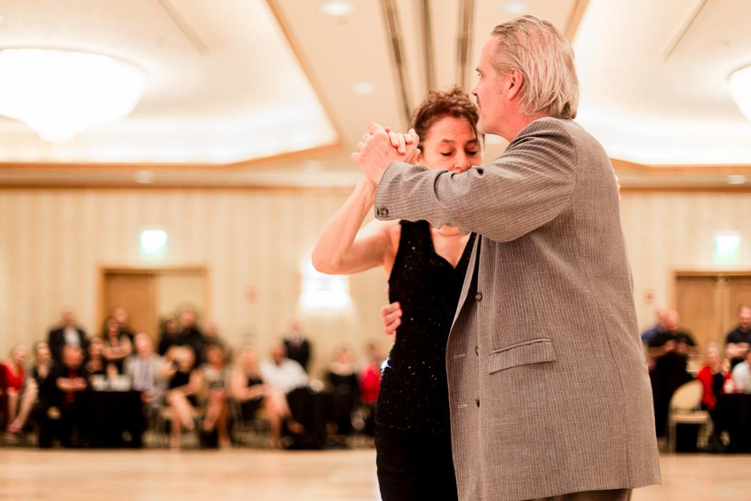 Ana Miguel and Oscar Casas at Chicago Mini Tango Festival, Rosemont Hilton, O'Hare. Photo: Leni Manaa-Hoppenworth