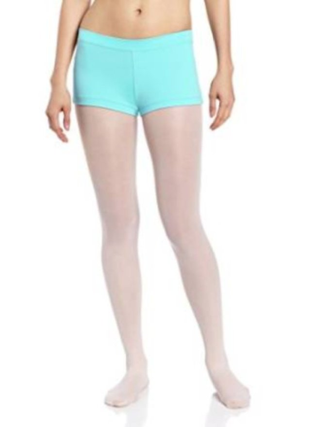 Capezio Boy Cut Low Rise Short in Tropical Lagoon