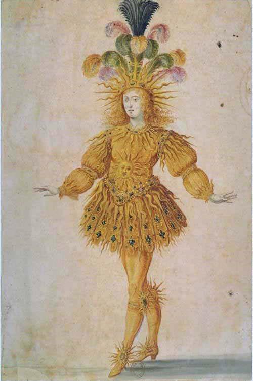 King Louis XIV in Ballet de la nuit, 1653