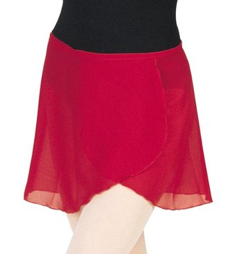 Mirella Georgette Wrap Skirt