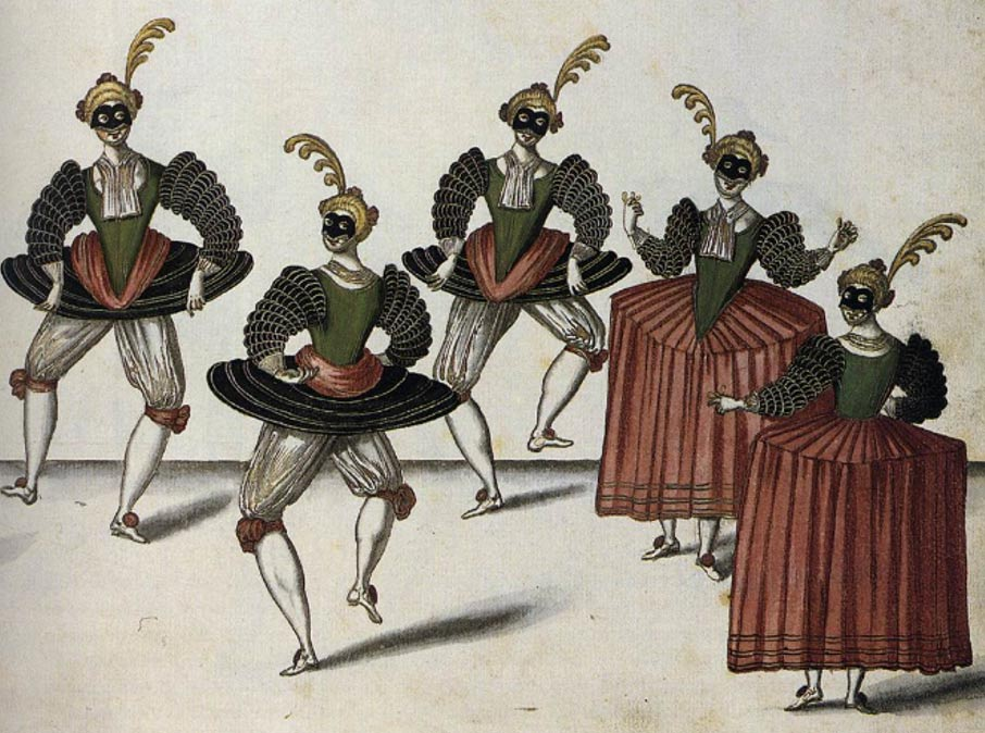 The Royal Ballet of the Dowager of Bilbao's Grand Ball, 1626