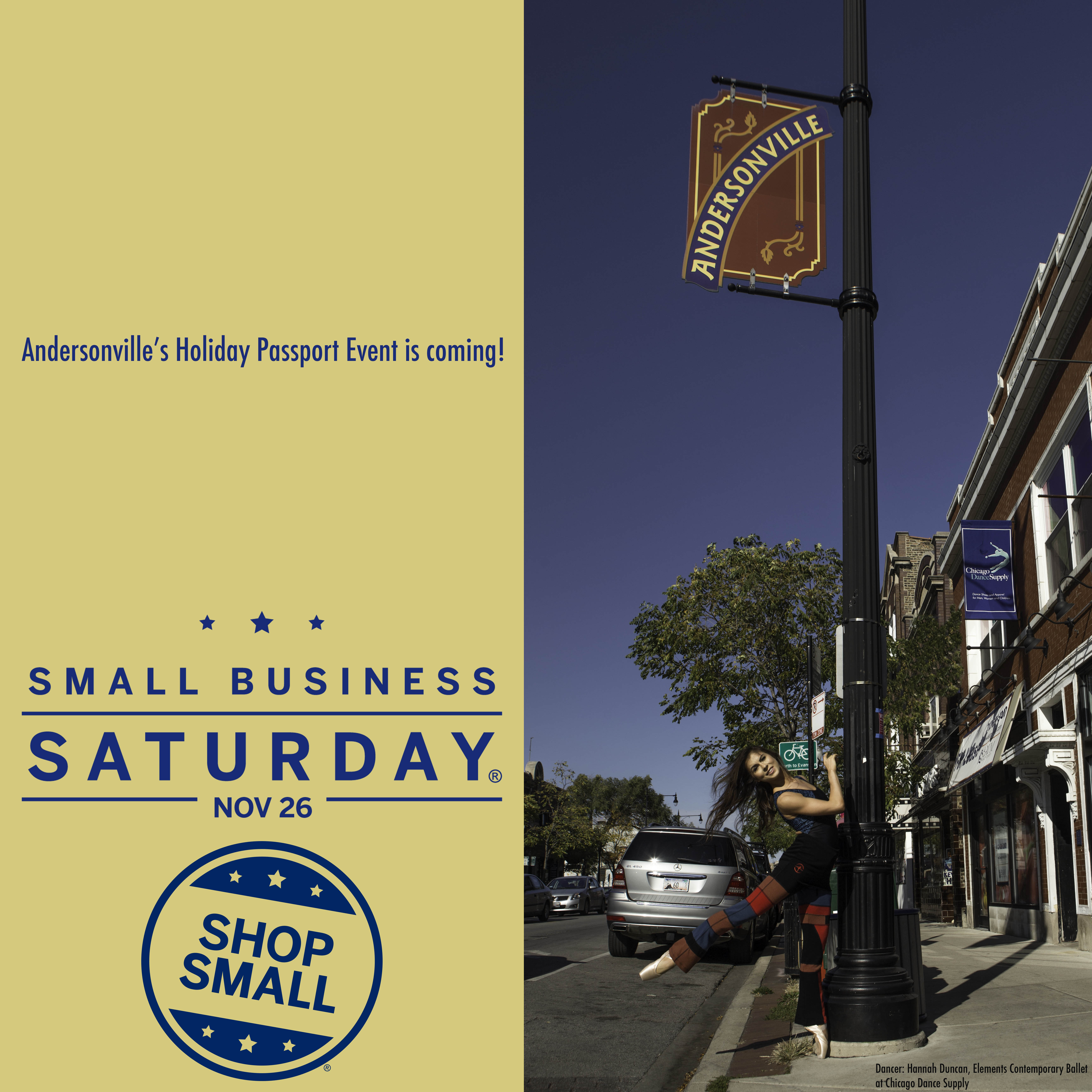 Small Business Saturday in Andersonville