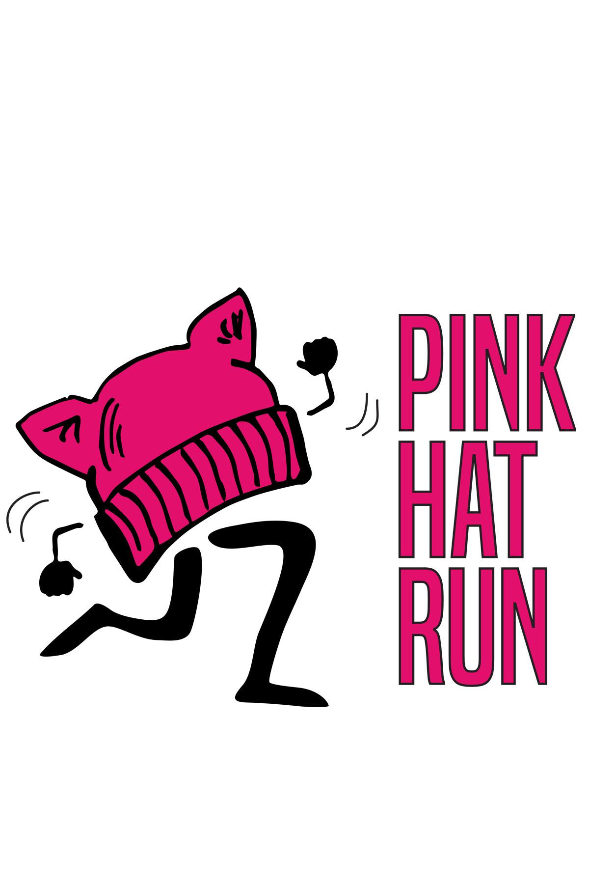 Pink Hat Run Logo