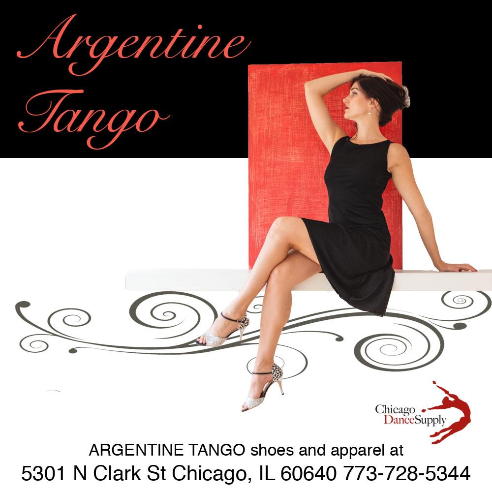 Argentine Tango: Ashley Kalchek at Chicago Dance Supply